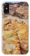 Vein Of Gold In Valley Of Fire State Park IPhone Case