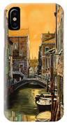 Venezia Al Tramonto IPhone Case