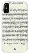Venezio Style Desiderata Poem IPhone Case