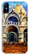 Venice - Pigeons On San Marco Square IPhone Case