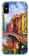Venice Bridge IPhone Case