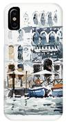 Venice Canal With Barges IPhone Case