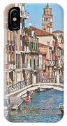 Venice Canaletto Bridging IPhone Case