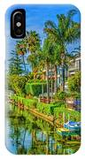 Venice Canals And Houses 4 IPhone Case