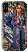 Venice Carnival Characters_dsc1364_02282017  IPhone Case