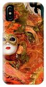 Venice Carnival Mask Italy IPhone Case