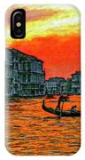 Venice Eventide Impasto IPhone Case