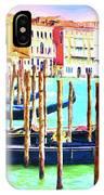 Venice Gondolas IPhone Case