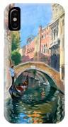 Venice Ponte Widmann IPhone Case
