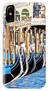 Venice Sunny Rialto Bridge IPhone Case