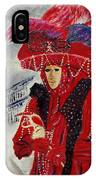 Venitian Mask 0130 IPhone Case