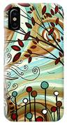 Venturing Out By Madart IPhone Case