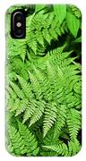 Verdant Ferns IPhone Case