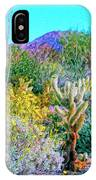 Verdant Spring Mohave Desert IPhone Case