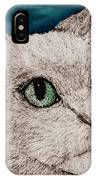 Verde Eyes IPhone Case