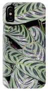 Verigated Green Leaves IPhone Case