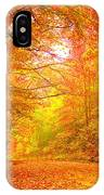 Vermont Autumn IPhone Case