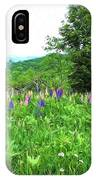 Vermont Lupine IPhone Case