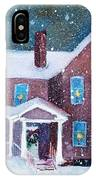 Vermont Studio Center In Winter IPhone Case