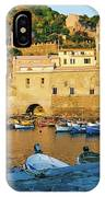 Vernazza, Italy, At Sunset IPhone Case