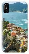 Vernazza, Cinque Terre, Liguria, Italy IPhone Case