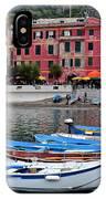Vernazza Harbor IPhone Case