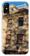 Vernon House Newport Rhode Island IPhone Case