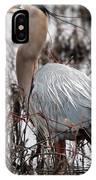 Very Handsome Heron  2845 IPhone Case