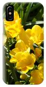 Very Sunny Yellow Flowers IPhone Case