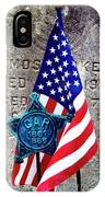Veteran - 298 IPhone Case