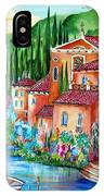 Via Positano By The Lake IPhone Case
