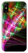 Vibrant Energy Swirls IPhone Case