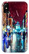 Vibrant Night Life IPhone Case