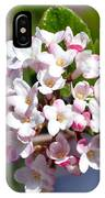 Viburnum Bloom IPhone Case