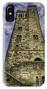 Victoria Tower Castle Hill Huddersfield 4 IPhone Case