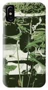 Victorian Garden Poster IPhone Case