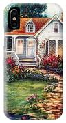 Victorian House With Gardens IPhone Case
