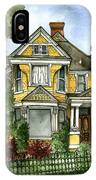 Victorian In The Avenues IPhone Case