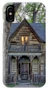 Victorian Sedman House In Montana State IPhone Case