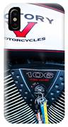 Victory Red Sq IPhone Case