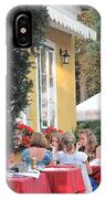 Vienna Restaurant In The Park IPhone Case
