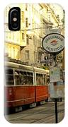 Vienna Streetcar IPhone Case