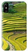 Vietnam Rice Terraces IPhone Case