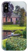 View At Old Church  In Dutch Village IPhone Case