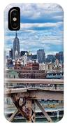 View From Brooklyn Bridge IPhone Case