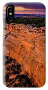 View From Upper Ute Canyon, Colorado National Monument IPhone Case