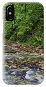 View In Vintgar Gorge - Slovenia IPhone Case