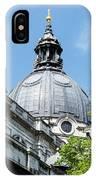 View Of Brompton Oratory Dome Kensington London England IPhone Case