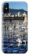 View Of Grandville Island Vancouver Canada IPhone Case