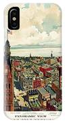 View Of Milwaukee 1898 IPhone Case